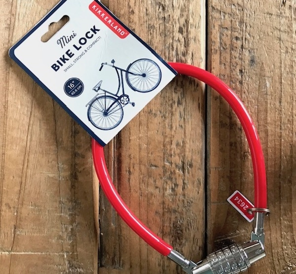 mini bike lock